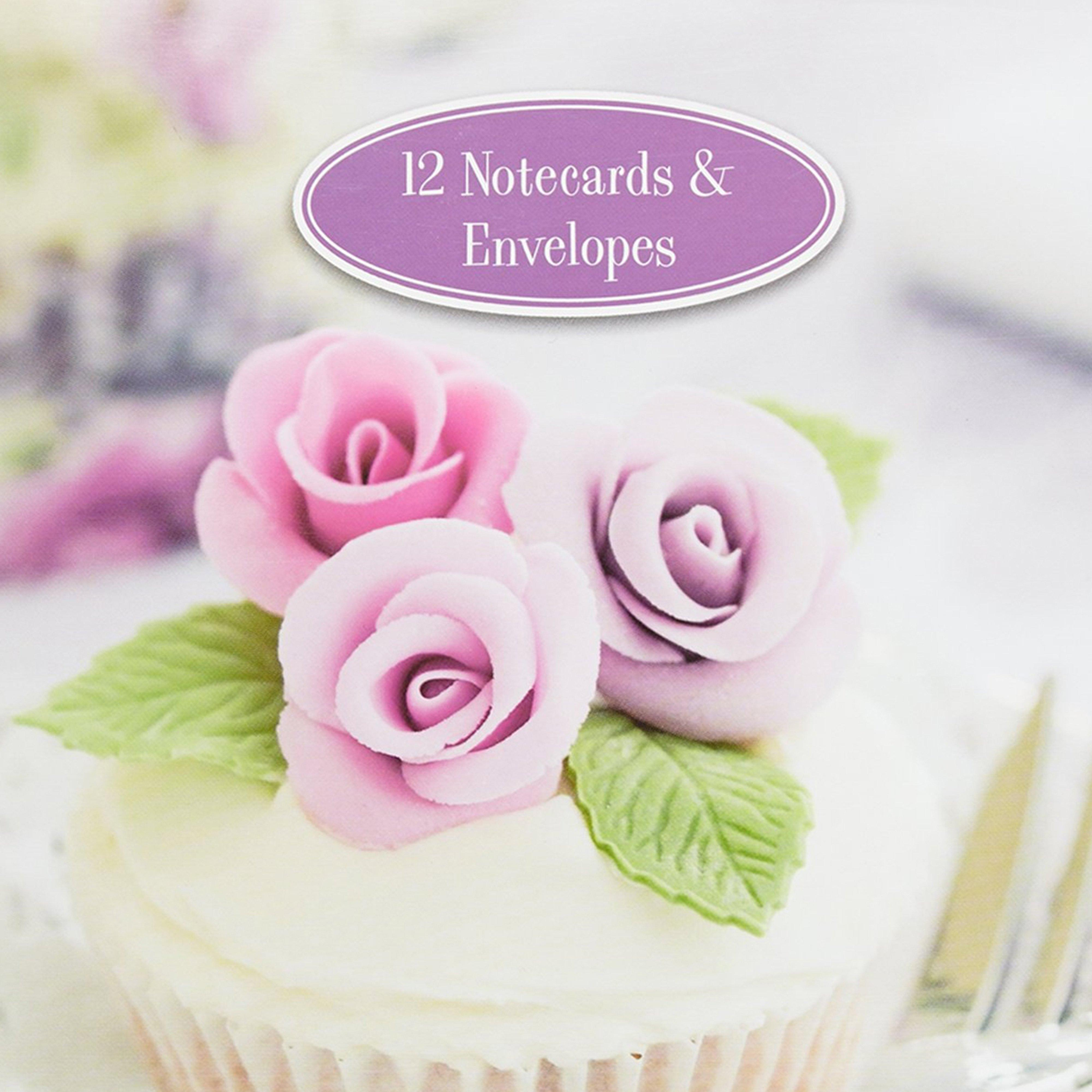 Image of Gifted Cupcake Notepad and Envelope