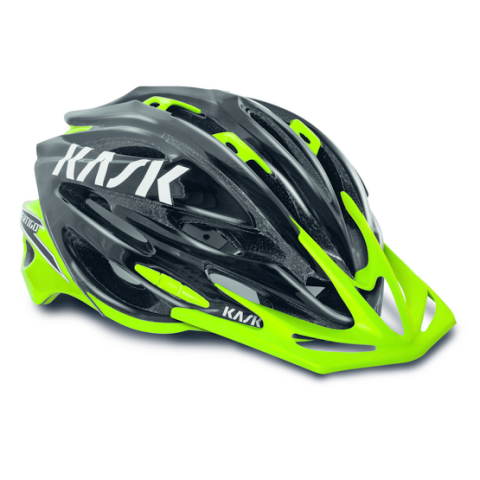 Image of Vertigo XC - Black/Lime - Large Helmet