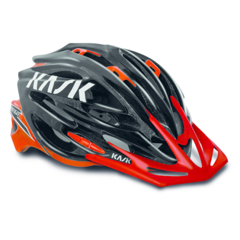 Image of Vertigo XC - Black/Red - Large Helmet
